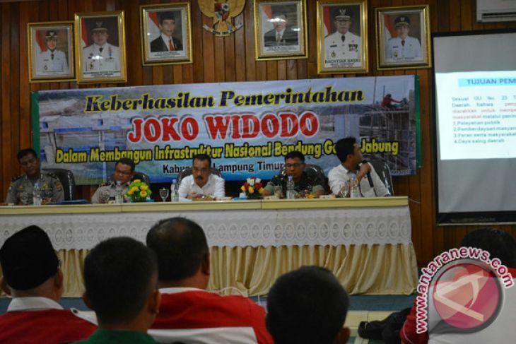 Lampung Timur Apresiasi Pembangunan Bendungan Era Jokowi