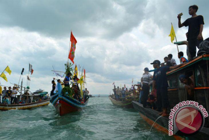 Nelayan Lampung Timur Gelar Ritual Nadran