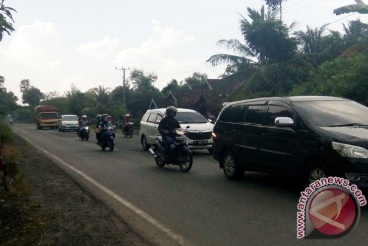 Mudik? Jalan Lintas Timur Lampung cukup baik