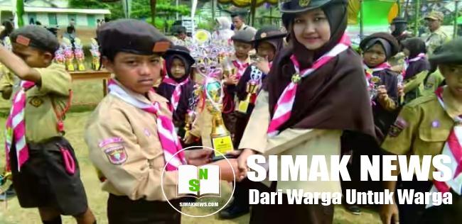 Perlombaan Jambore Ranting Jabung, Gudep SMK Perintis Raih Juara Umum