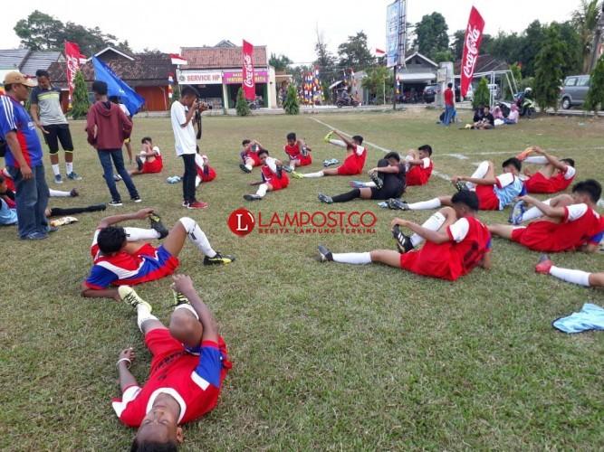 SSB Gajah Mada Purbolinggo Lamtim Wakili Lampung Perebutkan Piala Menpora U14