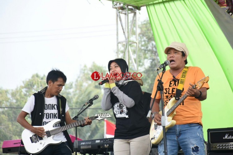 Usai Festival Dangdut, Pemkab Lamtim Helat Festival Band