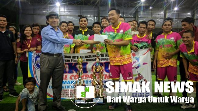 Tim Futsal Sekampung Udik Juarai Tournamen PIKI Cup 2019