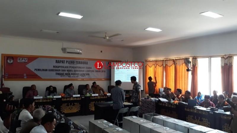 Rapat Pleno KPU Lamtim Mundur dari Jadwal
