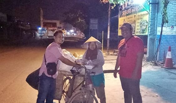 Pemuda OPPM & FPKM Banjarejo Batanghari, Gelar Program Sahur On The Road
