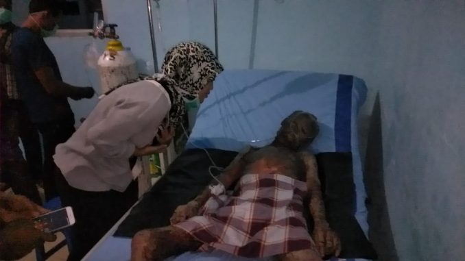 Wagub Lampung Jenguk Pasien Penyakit Kulit