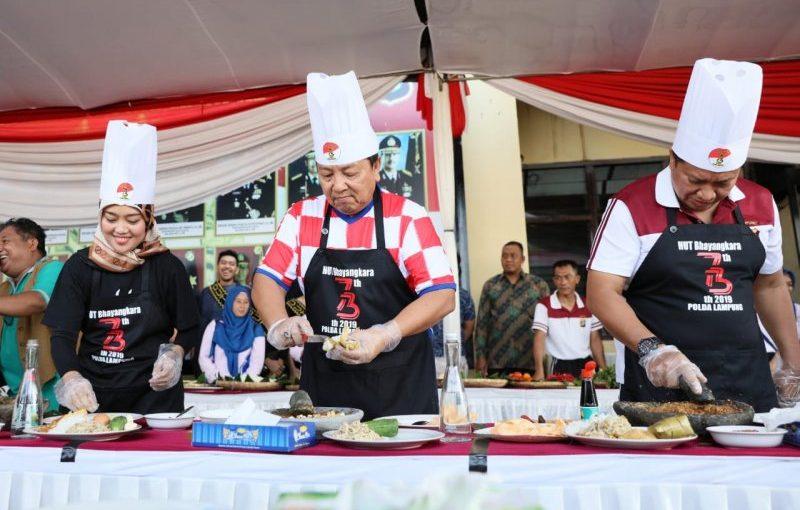 Gubernur Arinal juara tiga lomba masak ketoprak