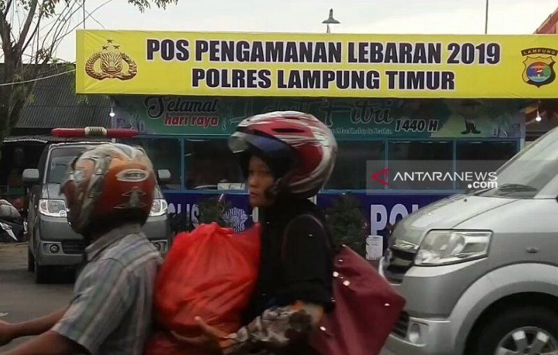 Jalinpatim Lampung Timur dipadati sepeda motor