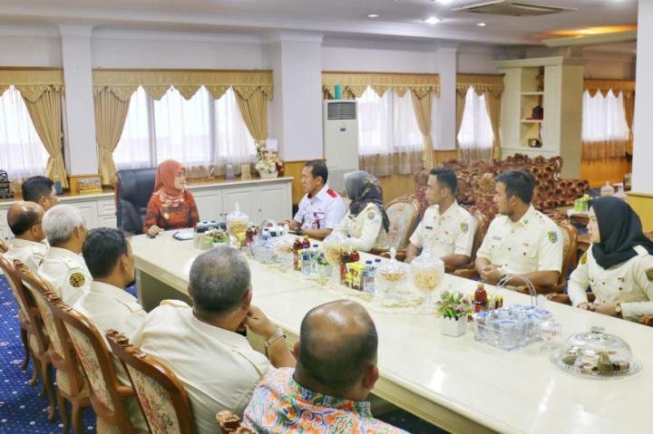 Terima Audensi PPI Lampung, Wagub Nunik Paparkan Bahaya Narkoba