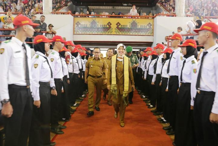 Wagub Lampung Buka MPLS Tingkat SMA-SMK TA 2019-2020 di GSG Unila