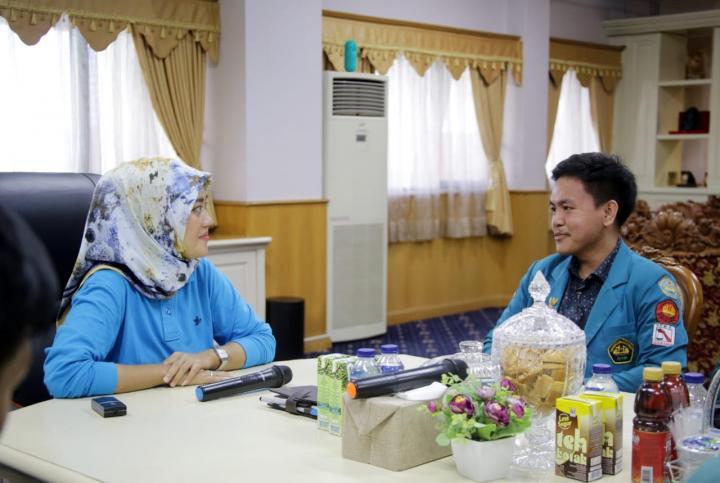 Wakil Gubernur Lampung Dorong Mahasiswa Bangun Jaringan