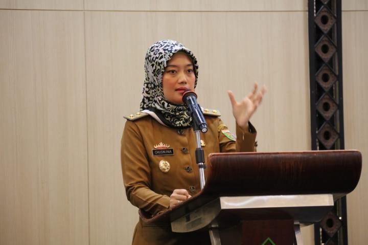 Nunik Minta Femokrat Bantu Perjuangkan Isu Perempuan dan Anak di Lampung