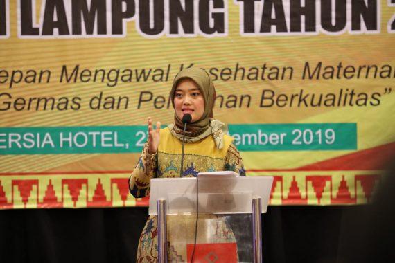 Wakil Gubernur Lampung Chusnunia Ajak Bidan Tingkatkan Derajat Kesehatan