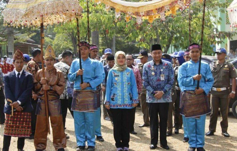 Wakil Gubernur Lampung Chusnunia kunker ke SMA 3 lampung Utara