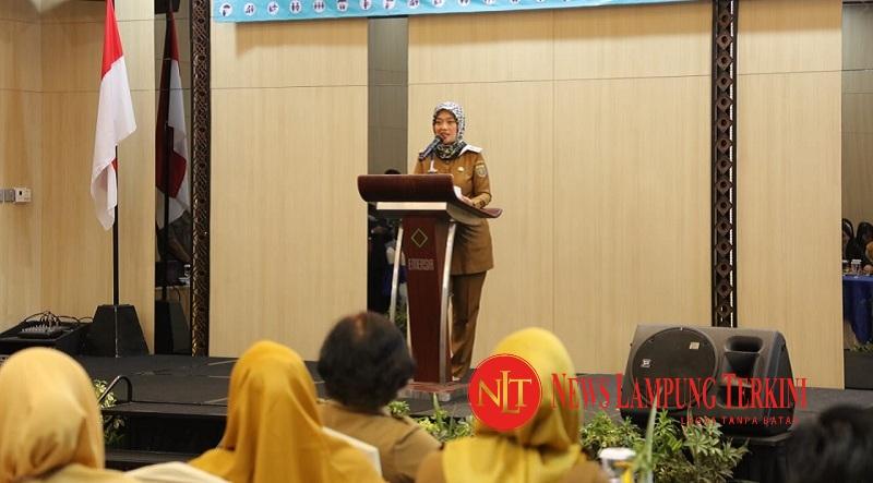 Wagub Chusnunia Buka Workshop Komitmen Perempuan Dalam Birokrasi