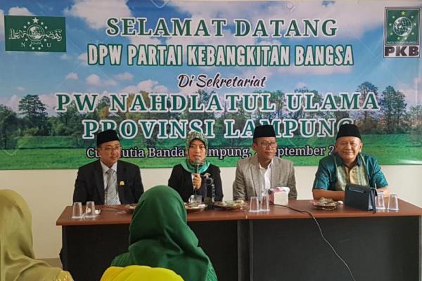 Usai Dilantik, Chusnunia Chalim Ajak Legislator PKB Lampung Sowan PWNU