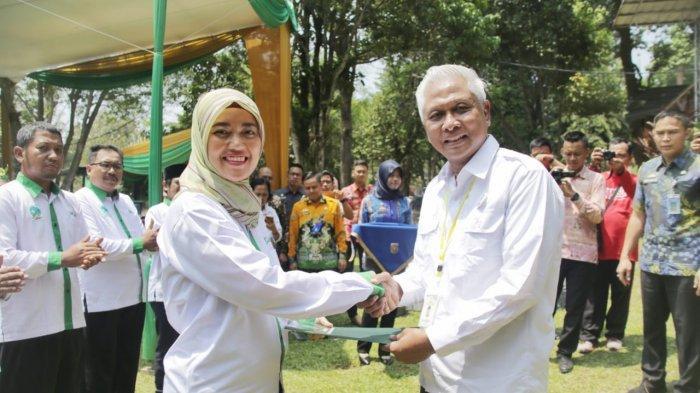Ketua Umum Maporina Lantik Wagub Lampung Chusnunia Sebagai Ketua Harian Maporina Provinsi Lampung