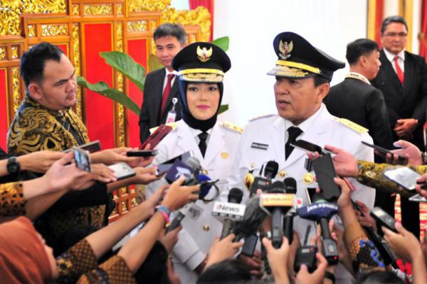Chusnunia Chalim Ajak Anggota DPRD Kompak Majukan Provinsi Lampung