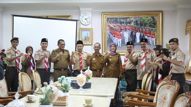 Wagub Chusnunia Dukung dan Siap Hadir di Perlombaan Unjuk Prestasi III Kwarda Pramuka se- Provinsi Lampung