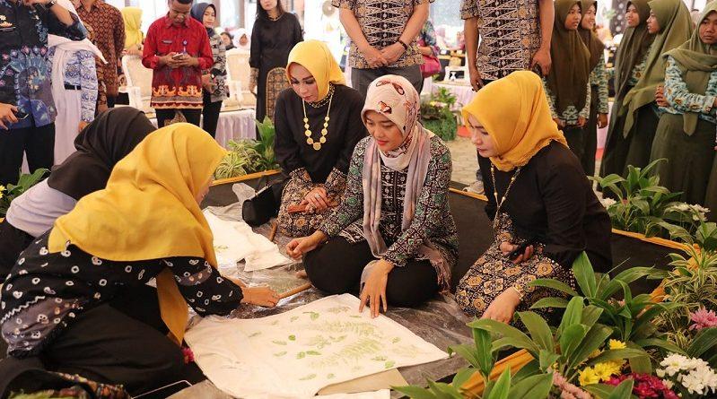Festival Batik Lampung 2019 Bangun Ekonomi Kreatif