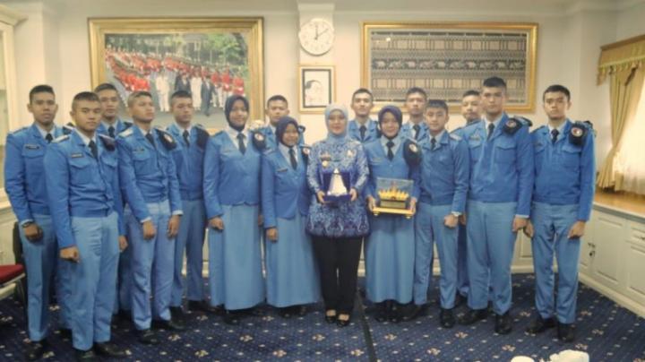 Audensi, Wagub Lampung Motivasi Siswa-siswi SMA Taruna Nusantara Angkatan 30