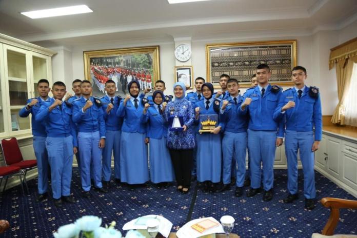 Wagub Motivasi Siswa-Siswi SMA TN 30 Lampung