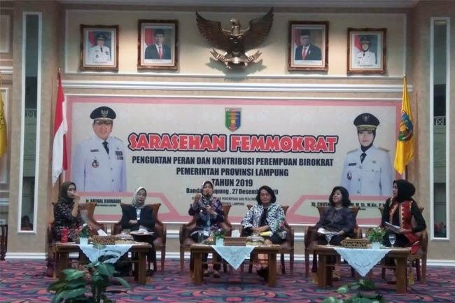 Kaum Emak-Emak Bertekad Kuasai Birokrat Pemerintahan Lampung
