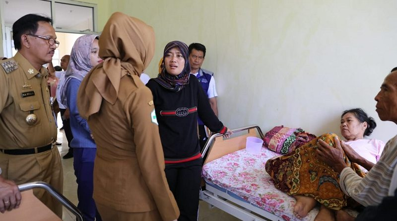Pastikan Pelayanan Kesehatan Berjalan Baik, Wagub Kunjungi RSUD KH Muhammad Thohir Pesisir Barat