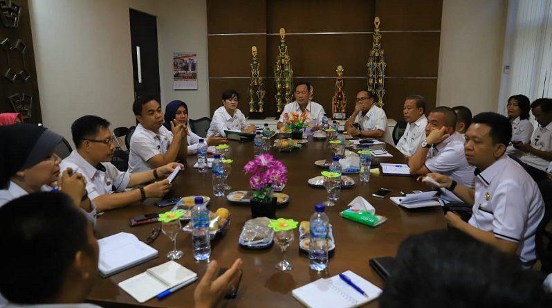 Sekdakab Tuba Pimpin Rapat Persiapan Penyambutan Kunjungan Wakil Gubernur