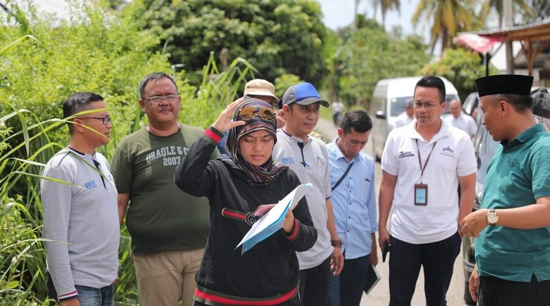 Wagub Chusnunia Tinjau Pembangunan Ruas Jalan Provinsi di Pesisir Barat