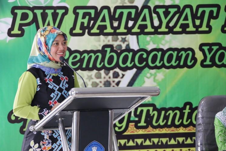 Nunik Ajak Fatayat NU Wujudkan Lampung Tertib, Aman dan Nyaman