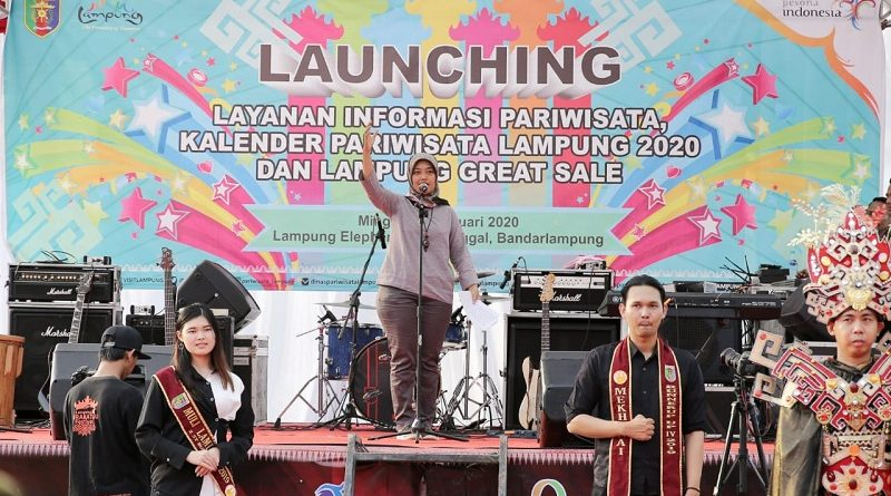 Wagub Chusnunia Launching Calender of Event Pariwisata 2020