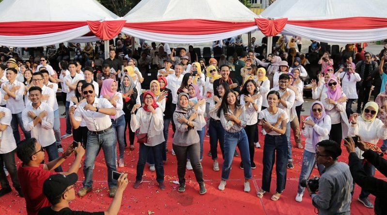 "Launching Calender of Event Pariwisata 2020, Wagub Nunik ""TikTok"" Bersama Masyarakat"