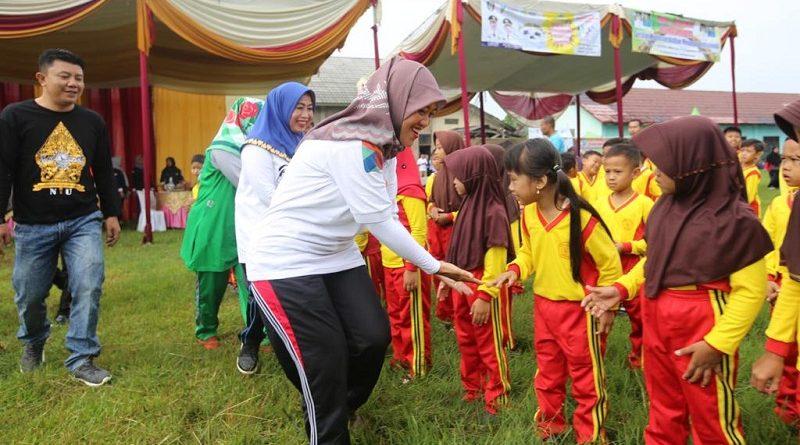 Optimistis Raih KLA 2020, Wagub Chusnunia dan Wabup Pringsewu Deklarasi Kabupaten Layak Anak